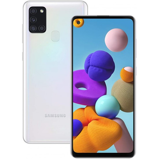 Samsung Galaxy A21s Dual Sim 32 Gb Branco 3 Gb Ram